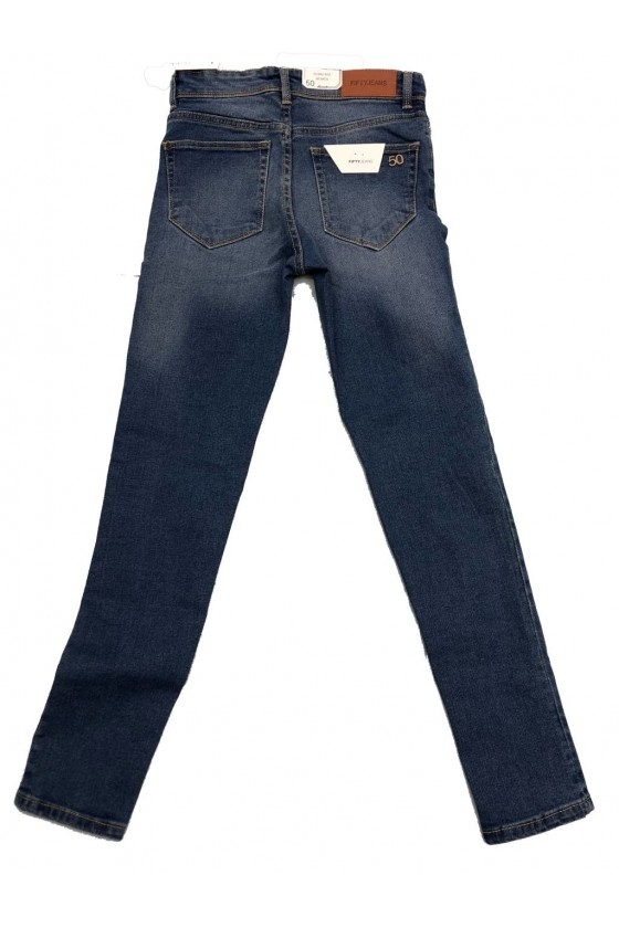 JEAN F TAILLE MOYENNE - FIFTY JEANS