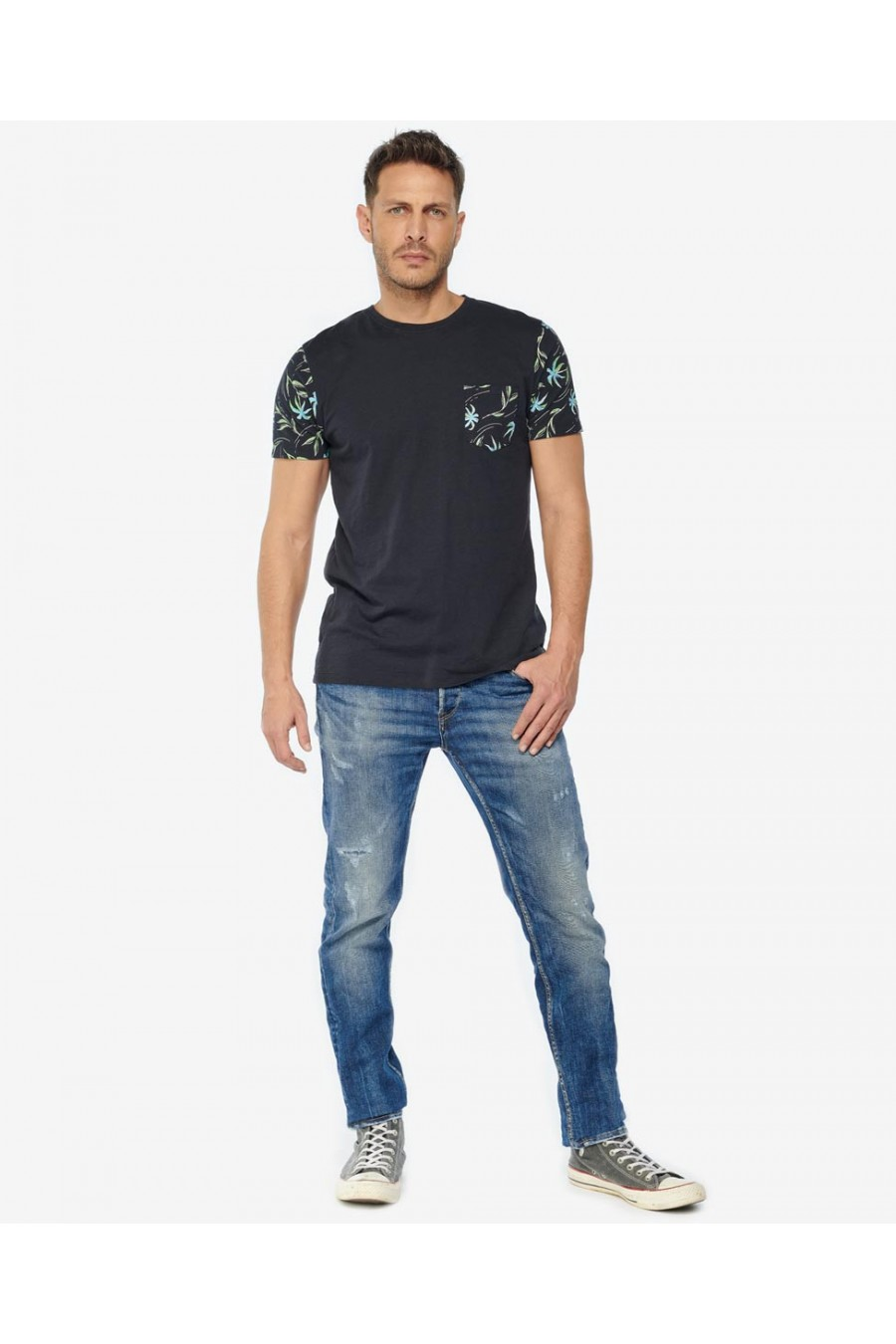 T SHIRT H BAZIN - LE TEMPS DES CERISES Tee-shirt