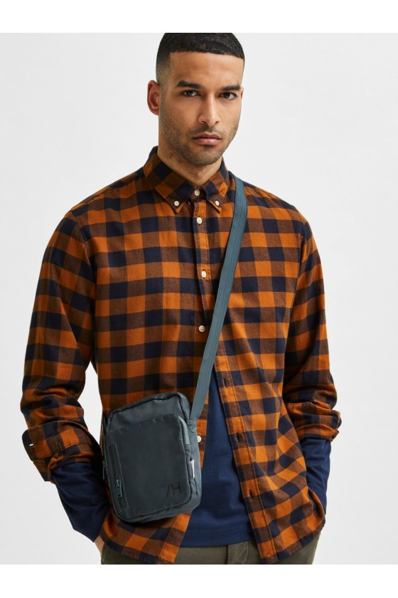 CHEMISE H FLANNEL - SELECTED Chemise
